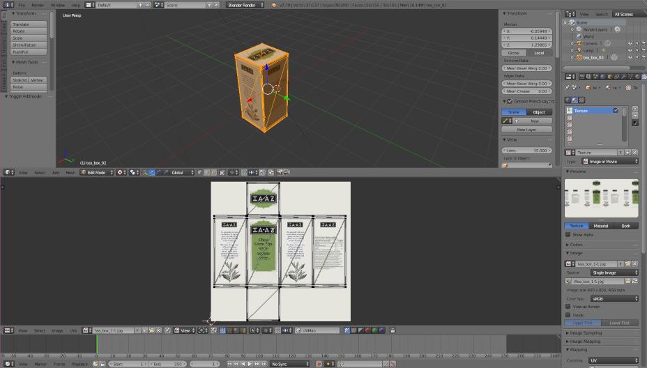 Visual Servoing Platform: Tutorial: How to use Blender to