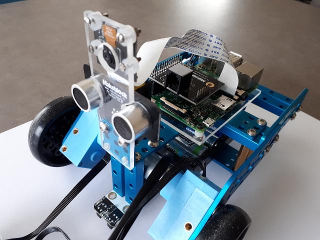 Visual Servoing Platform: Tutorial: Visual-servoing with mBot Ranger